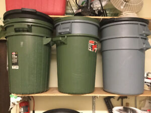 17 gal Refuse Containers