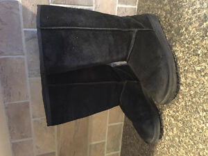 Boots UGG Black Leather