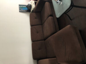 Used  EQ3 small sectional sofa