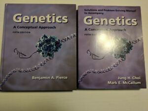 Genetics textbook and solutions manual