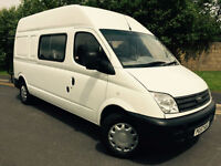 2007 57 LDV MAXUS 3.5T 2.5 (95) LONG WHEEL BASE HIGH ROOF 9 SEAT CREW VAN