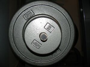 "1"" Steel Weight Plates - All Sizes"
