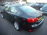 VW Jetta SE TDI BLUEMOTION TECHNOLOGY DSG (met black) 2012