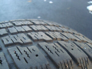 195 65 15  winter tires  with or without VW rims