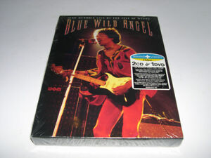 Jimi Hendrix - Blue Wild Angel-Isle of Wight 2cd+1dvd  (2004)