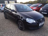 VW POLO 1.2 E 5DR 2005 IDEAL FIRST CAR CHEAP INSURANCE LOW MILEAGE