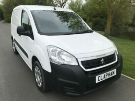 2015 65 PEUGEOT PARTNER PROFESSIONAL 850 1.6 HDI 90 BHP 3 SEATS ANY UK DELIVERY