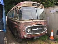 Storage wanted for vintage bus
