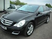 2007 07 MERCEDES-BENZ R CLASS 3.0 R320 CDI SPORT 5D AUTO 224 BHP DIESEL