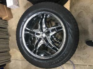 Pneu et mag universel 275 r55 20 Chevrolet GMC Dodge