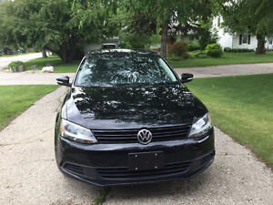 2013 Volkswagen Jetta Comfortline with sunroof