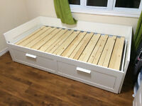 Twin bed with pull out bed, 3 door wardrobe, 5 drawers dresser