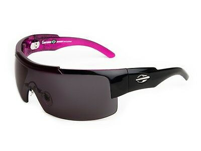 New MORMAII Copacabana Womens Hand Painted Eyewear Sunglasses Black / Pink Frame