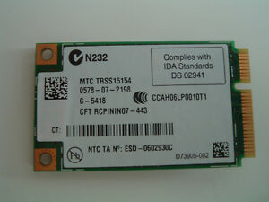WIFI modem card for laptop