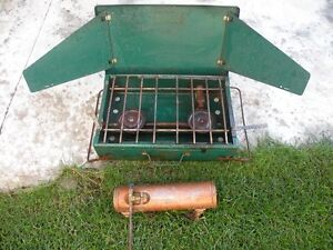 Coleman Model 4M Fuel Camping Stove For Sale