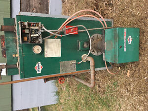 Hot water oil furnace, 2nd hand