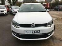 2017 VW Polo 1.0 Match Edition 3 Doors Manual White Cheap insurance