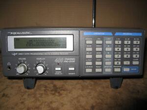 Realistic PRO-2006 HYPERSCAN scanner Police Fire SWAT ham radio