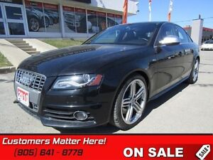 2010 Audi S4 LUXURY SPORT   S4, AWD, LEATHER, SUNROOF, HEATED SE