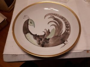 Most beautiful handpainted PMR Bavaria plate