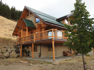 Log Home 3Bed/4Bath Great Valley Views, Armstrong $849,900