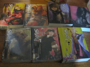 Samurai 7 limited editions full set DVDs