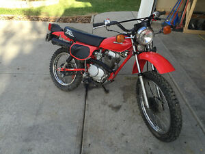 1982 Honda XL100 Street legal