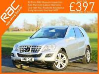 2011 Mercedes-Benz M Class ML300 CDI Turbo Diesel Sport Blue Efficiency 7G-Troni
