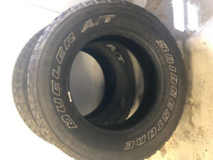 Bridgestone Dueler A/T (All terrain) Tires