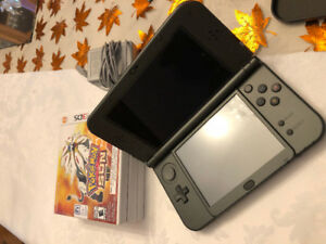 New Nintendo 3DS XL - Black (includes charger)