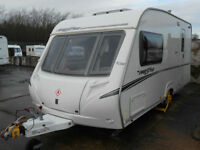 Abbey Freestyle 470 2 Berth Caravan with Full Awning and Motormover