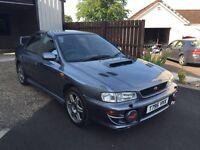 Subaru Impreza turbo RB5, rare car, poss px e46 m3 or focus RS
