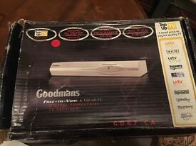 Goodmans Free-to-View and Top-up-TV Receiver GDB7-CA