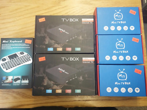 JUST ARRIVED - ANDROID TV BOXES/KEYBOARDS - MUSKOKA LIQUIDATION