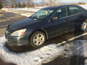 2007 HONDA ACCORD LX FULLY LOADED