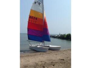 Catamaran de sport Prindle 16