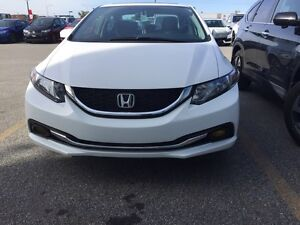 2015 Honda Civic EX Sedan ONLY 130.60$BiWeekly LEASE TAKEOVER!! Gatineau Ottawa / Gatineau Area image 5