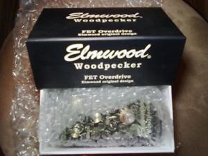 ELMWOOD THE BLACK WOODPECKER OVERDRIVE / DISTORTION PEDAL