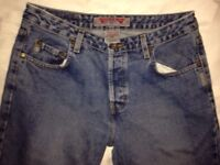 Silver jeans 100% Made in Canada size 31-32 REAL SILVERS