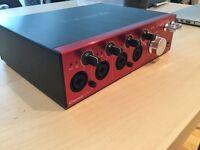 Focusrite Clarett 4 Pre - Audio Interface