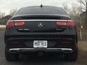 """RARE, RARE, 2016 Mercedes-Benz GLE """"Coupe"""" 350d"""