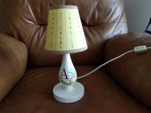 ABC Lamp for Nursery