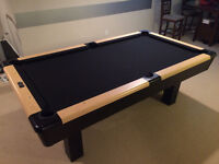 Dufferin pool table with ping pong top