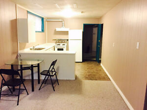 1 bedroom basement suite for rent starting January 1st, 2017