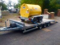 Dale Kane trailer Lowloader 16x6,6 3.5 ton plant machinery car transporter plant trailer