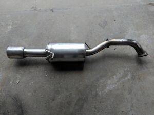 Mazdaspeed Protege Exhaust