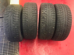 Michelin X-ice tires with Rims for sale