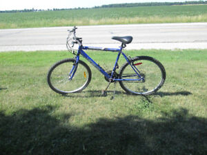 18 speed bicycle