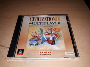 Civilization II Multiplayer jeux PC (Très rare)(Impeccable)