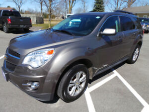 2011 CHEVROLET EQUINOX 1LT, 2.4 CYL, 17' ALLOYS WHEELS, LOW KMS